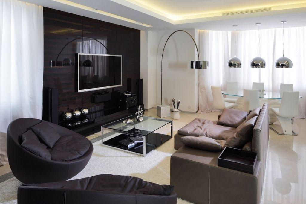 Мебель нужно расставлять и на ковре и вокруг него