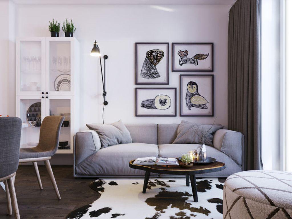 В скандинавском стиле прослеживаются черты минимализма и эко-стиля