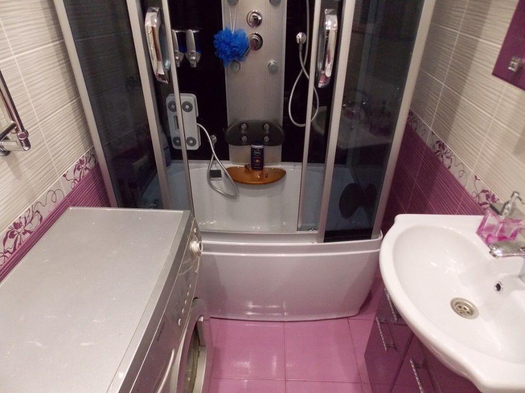 Гидробокс в маленьком помещении может почти не оставить свободного пространства
