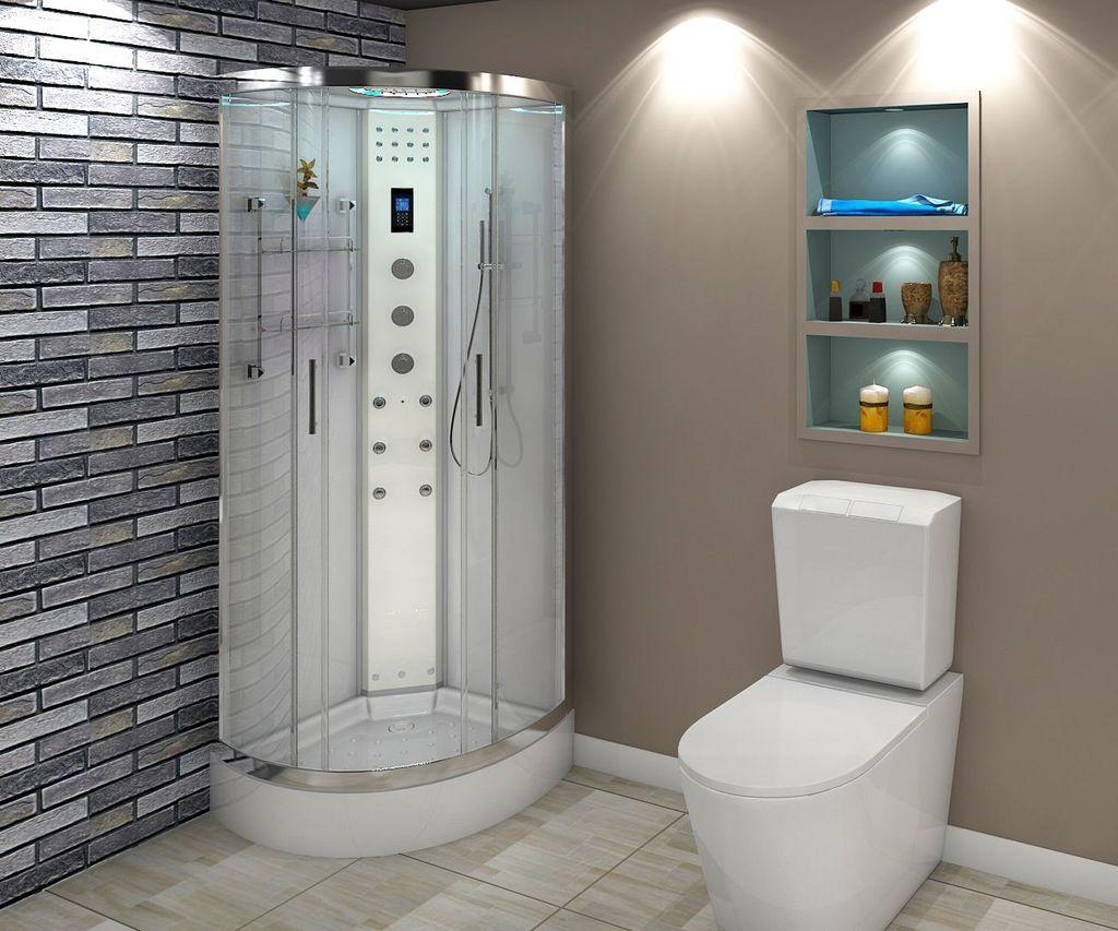 Гидробоксы обычно используют в помещениях строгого дизайна
