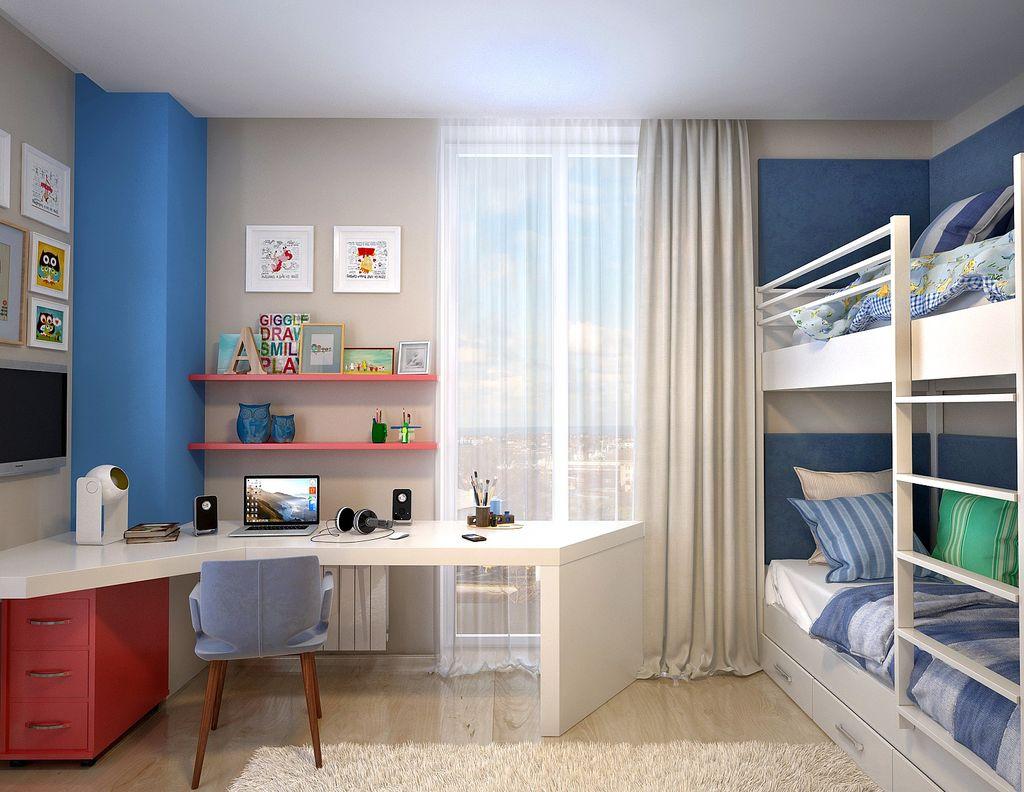 15 лучших вариантов детской комнаты с двухъярусной кроватью