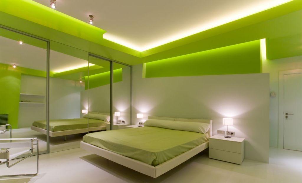 21 креативная идея для оформления спальни в зеленых тонах