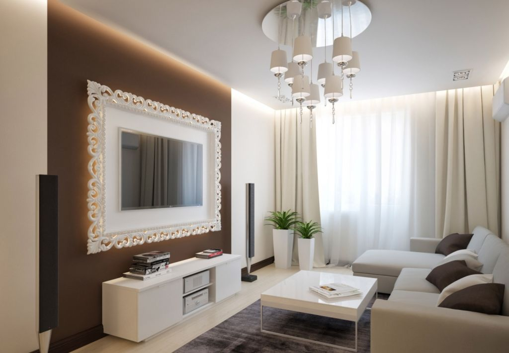 Цветовая гамма – это идеальный баланс, определяющий настроение в гостиной