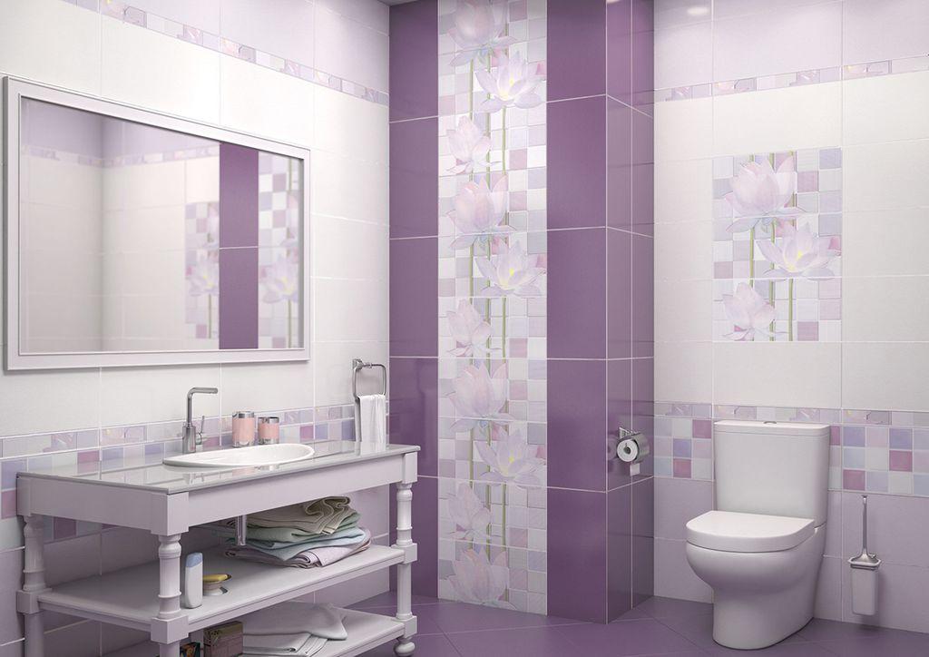 12 лучших вариантов дизайна ванной комнаты в фиолетовом цвете