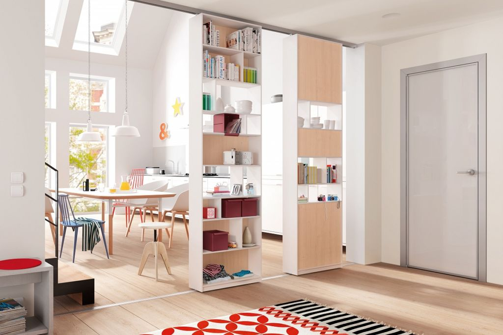 Шкаф-перегородка – уникальный многофункциональный предмет