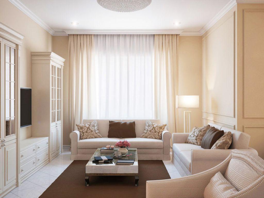Контраст между ковром и мебелью станет отличной идеей дизайна