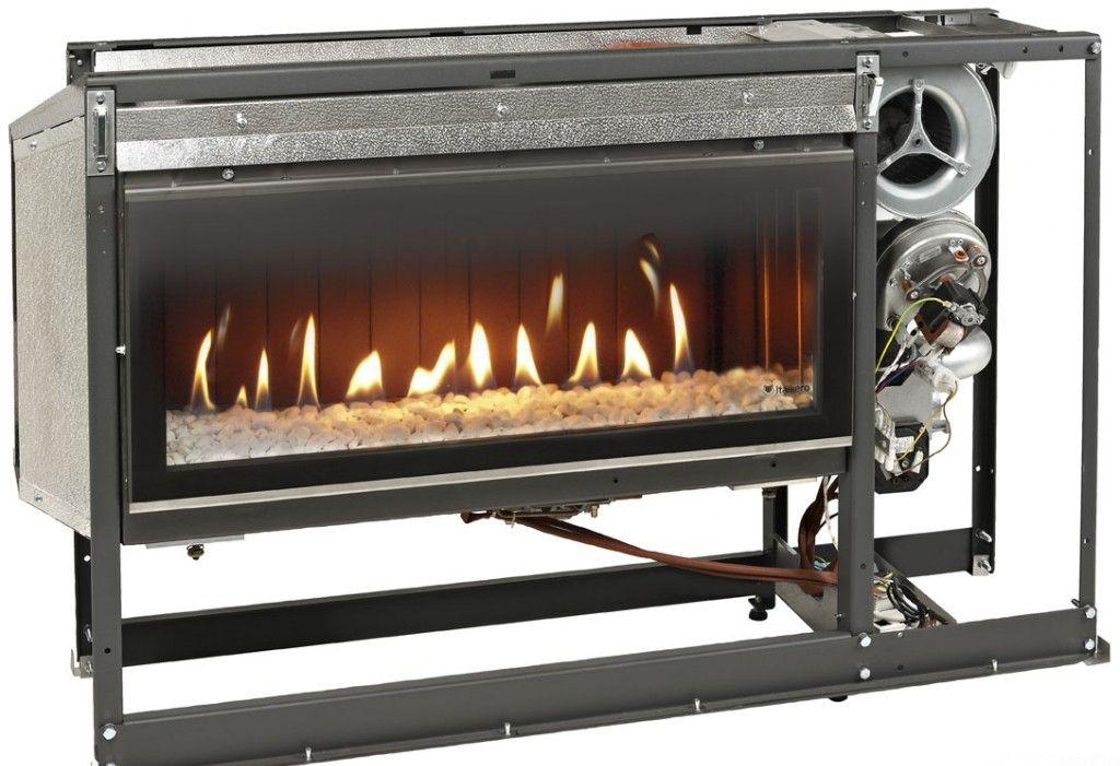 В газовом камине не остается углей и не обязательно подключать вытяжку