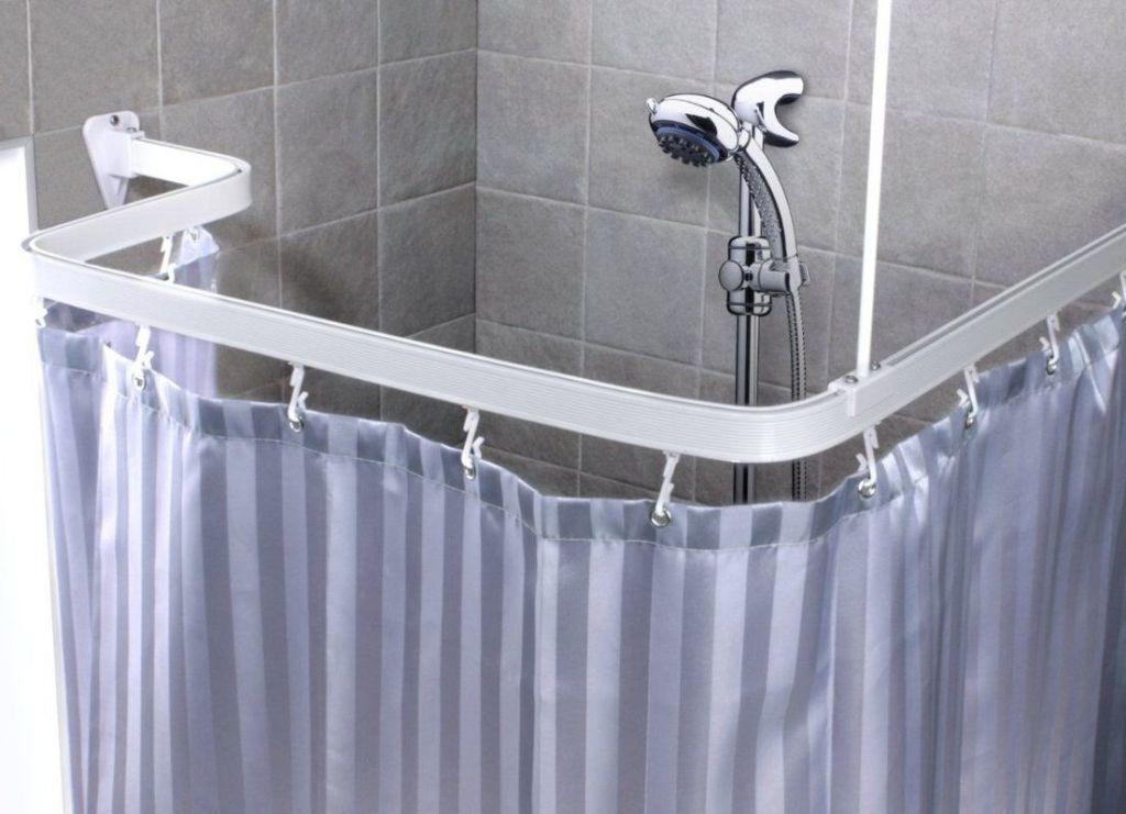 Гибкий карниз для ванной