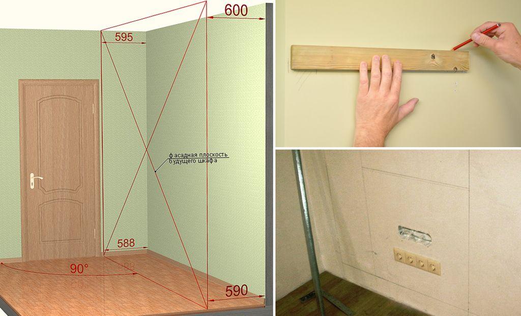 Встроенные шкафы фото дизайн внутри с размерами безусловная разница