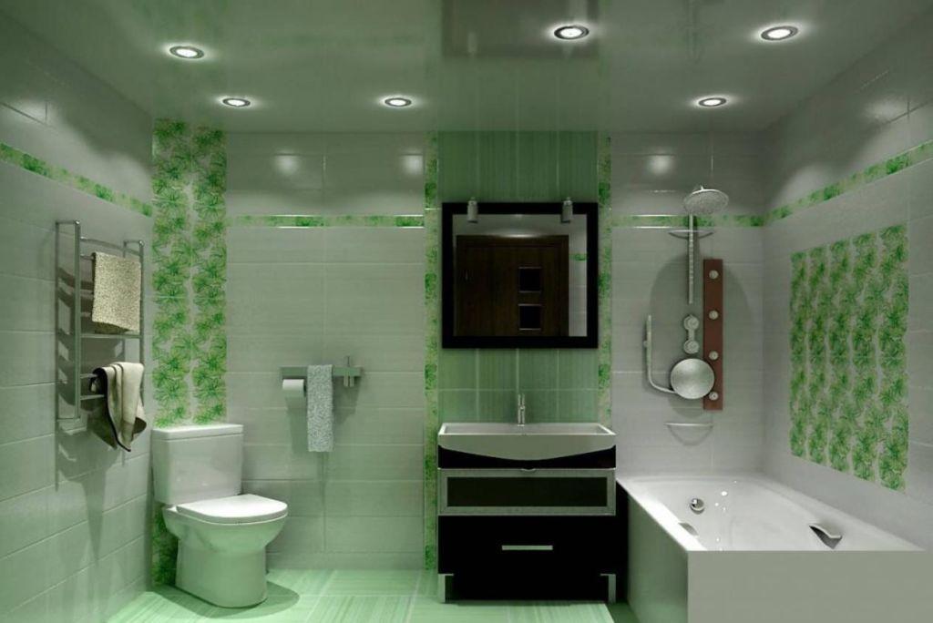 Одним из самых распространенных вариантов потолочных светильников для ванных являются светильники направленного света