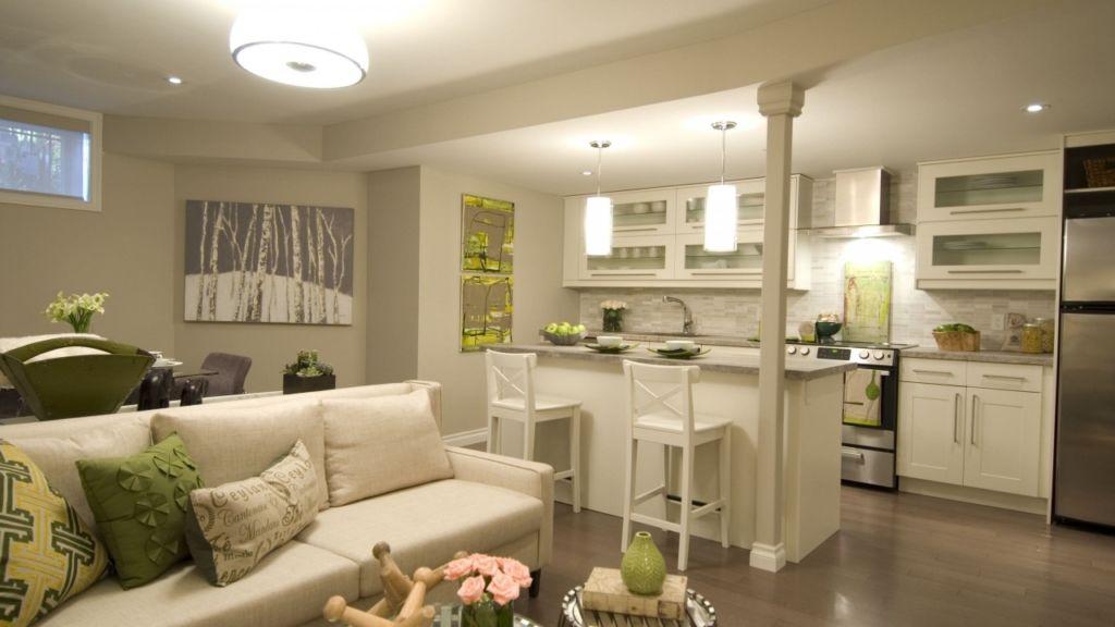 9 вариантов зонирования кухни и гостиной