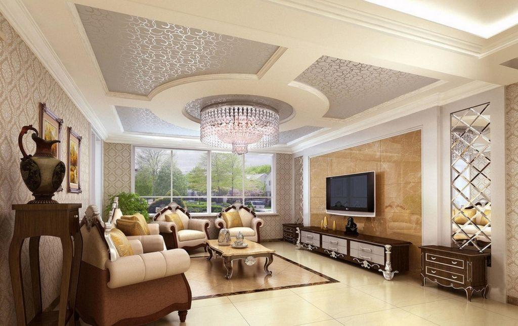Ключевые приемы для создания гостиной в современном классическом стиле