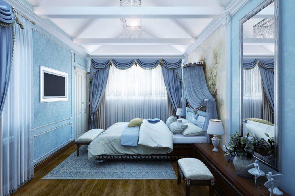 Голубые оттенки благотворно влияют на человека и способствуют расслаблению