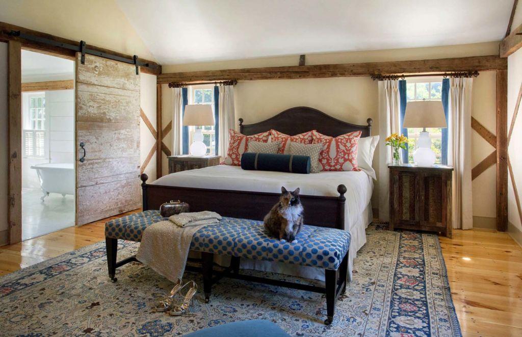 20 идей для спальни в стиле кантри
