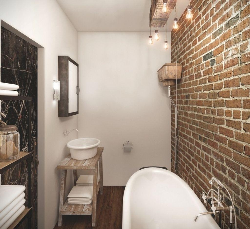 Для лофта обязательно наличие стены под кирпич