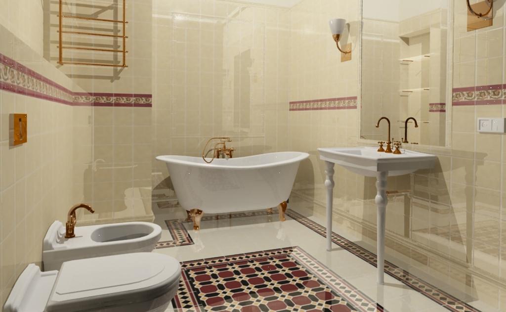 17 идей оформления ванной комнаты в светлых тонах