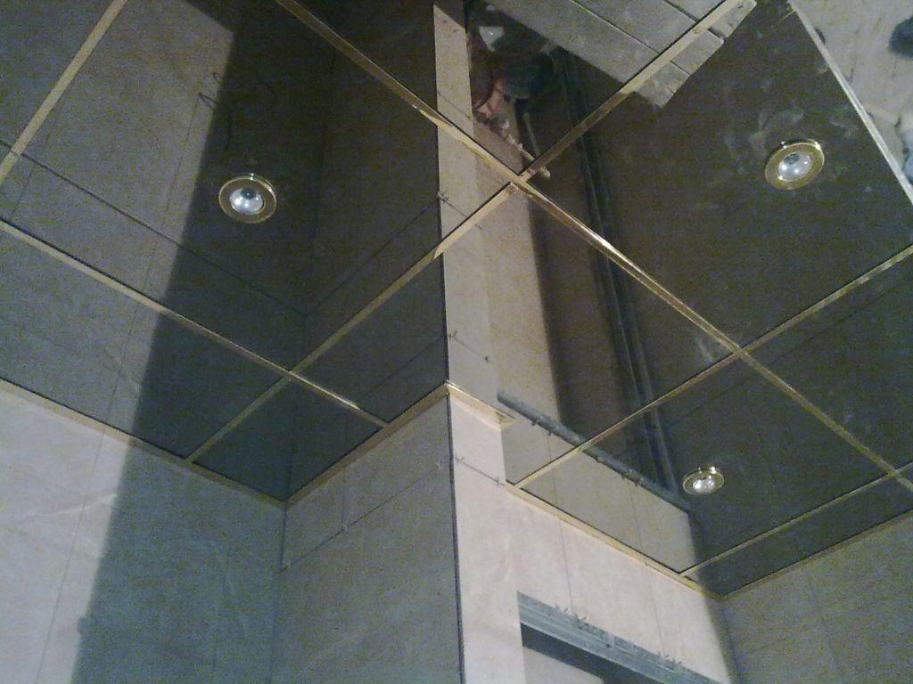Алюминиевые кассетные потолки идеально подойдут для ванной