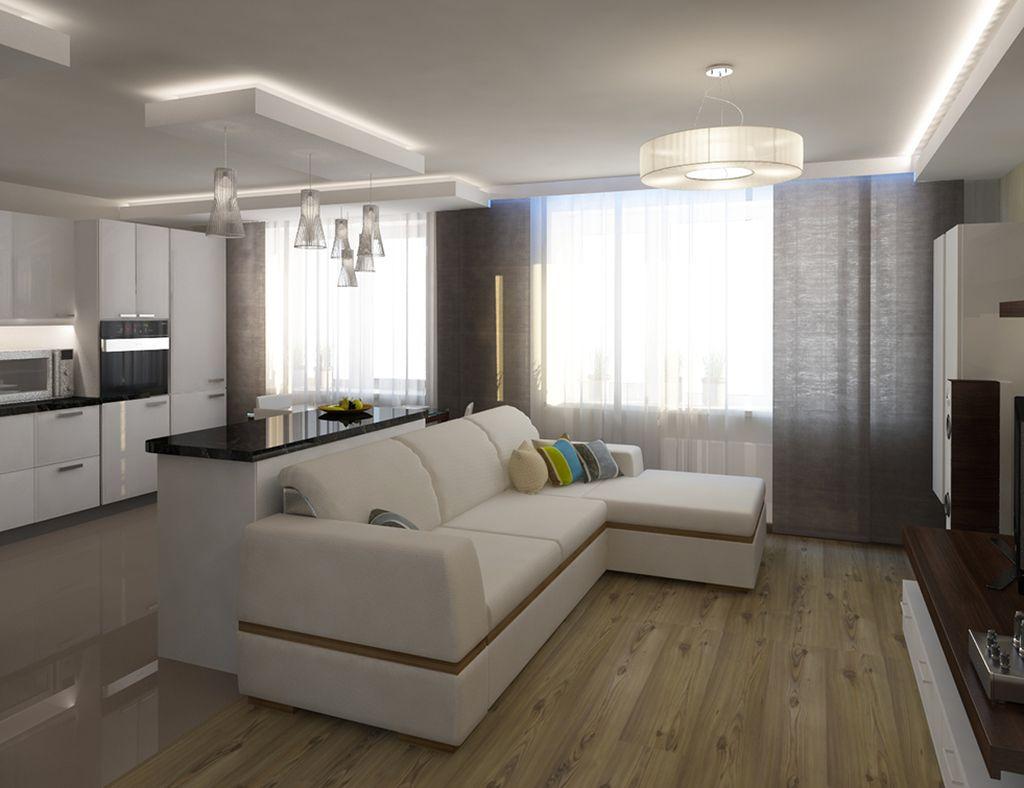 Мебель также является разграничителем пространства