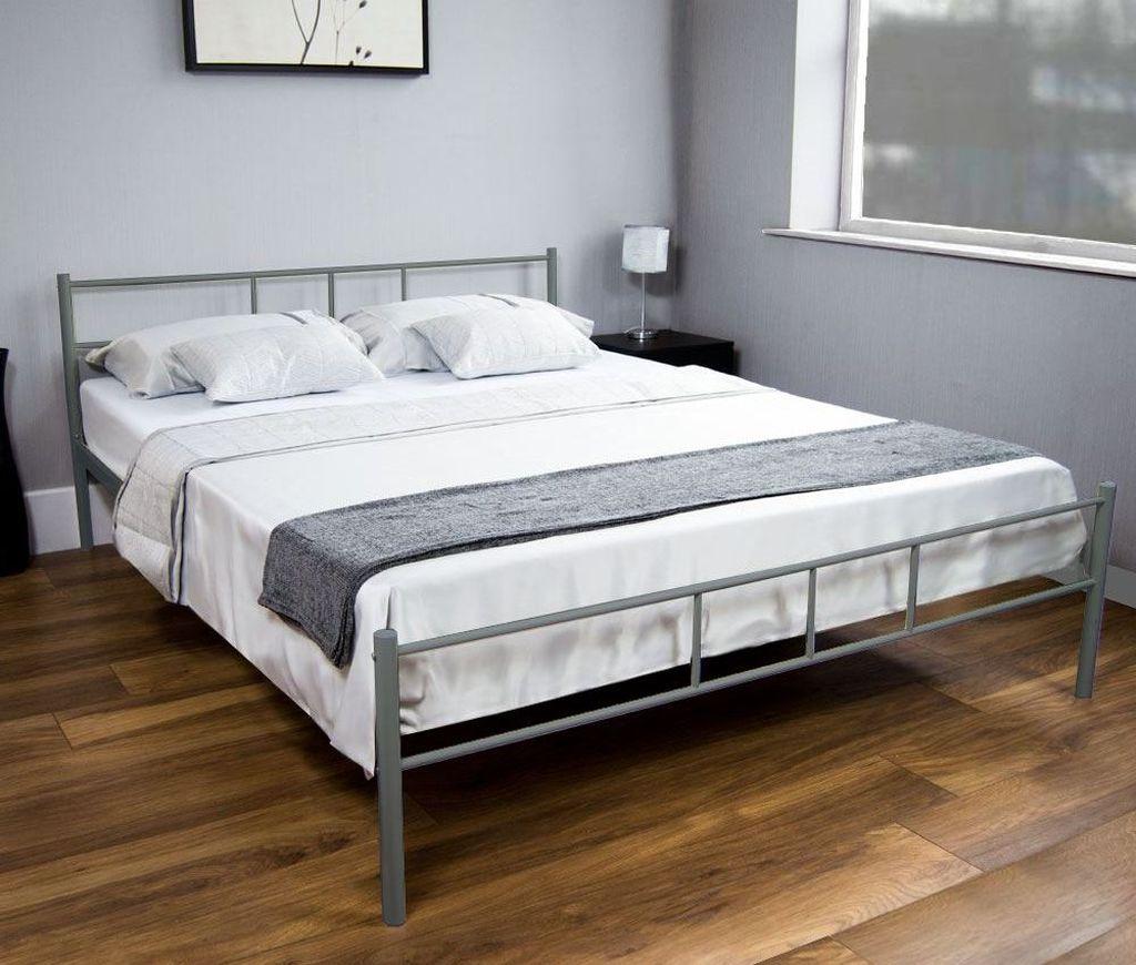Металлическая кровать износоустойчива и имеет долгие сроки эксплуатации