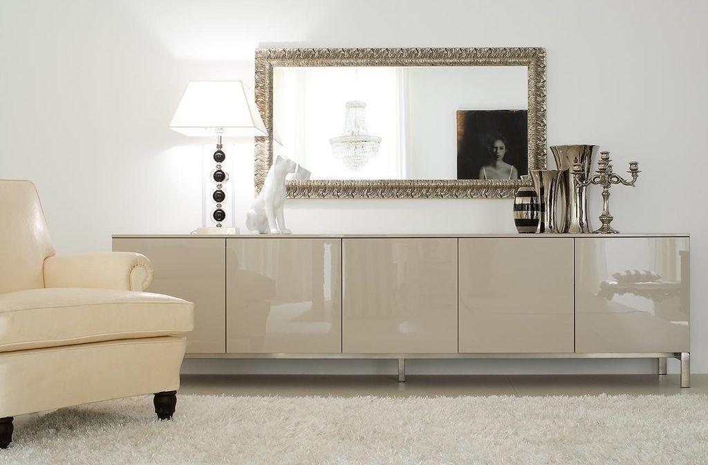 Длинные комоды являются отличным дополнением к дизайну любого помещения