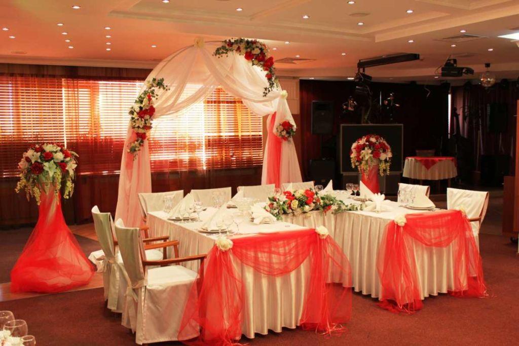28 фото оформления свадебного зала