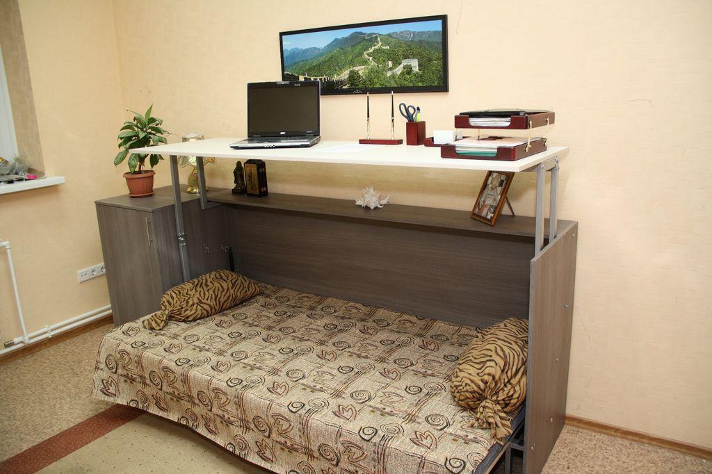 Кровать-тумба для школьника