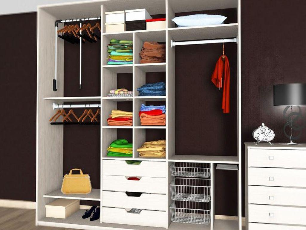 Шкаф будет многофункциональным, если внимательно отнестись к созданию его наполнения