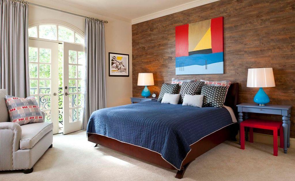 В стилях кантри и прованс лучше всего использовать ламинат с имитацией дерева