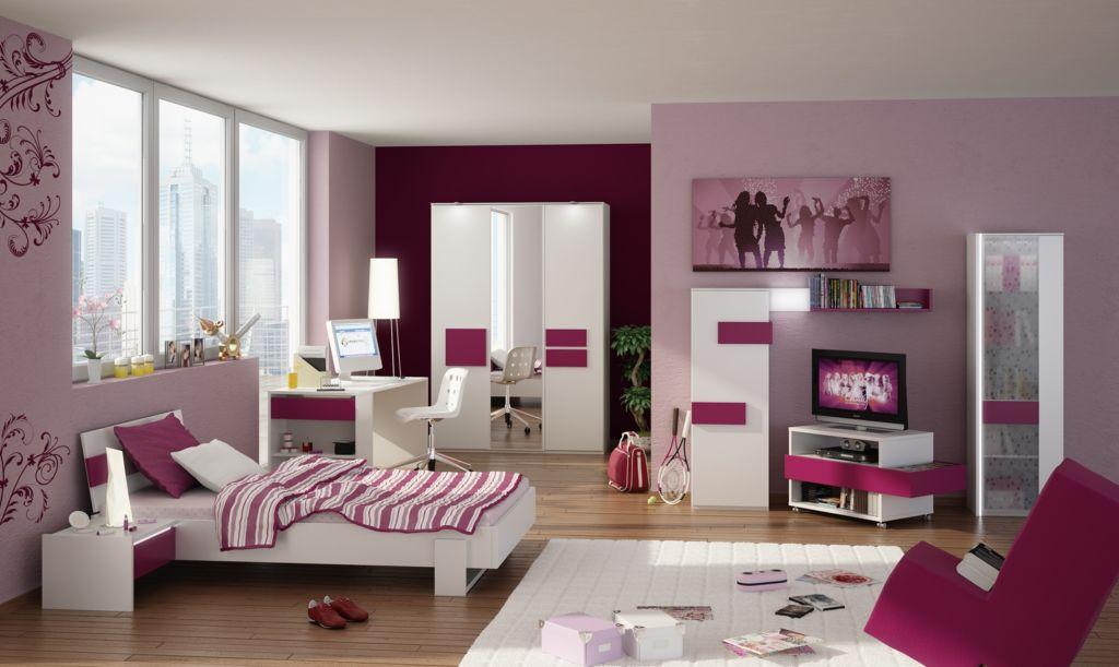 Создаем практичную и красивую спальню для девочки (18 фото)