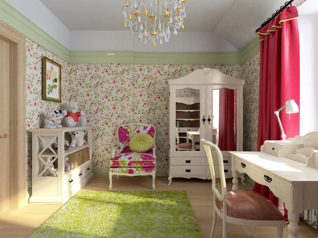 Детская комната всегда должна быть очень светлой