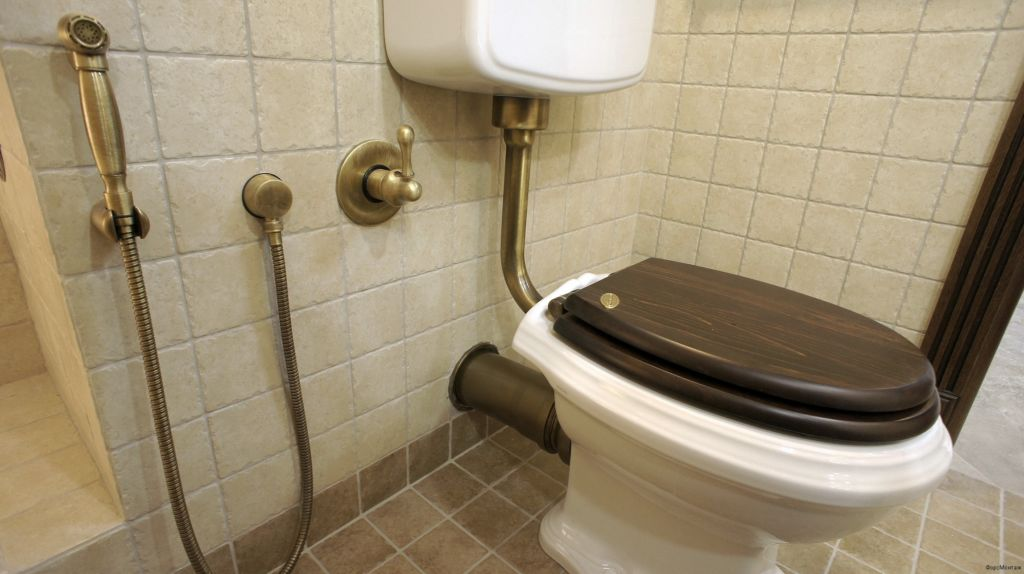 Смеситель с гигиеническим душем как сделать санузел комфортным