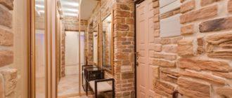 23 варианта отделки стен в прихожей