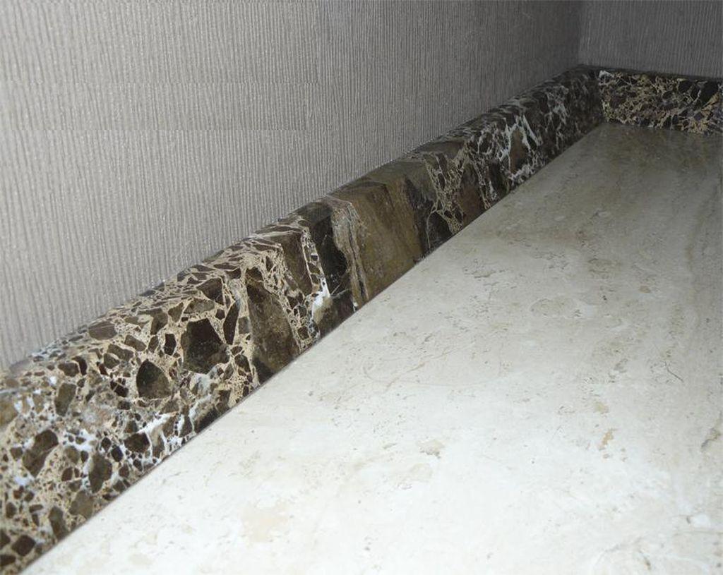 Мраморный бордюр даже прочнее керамического