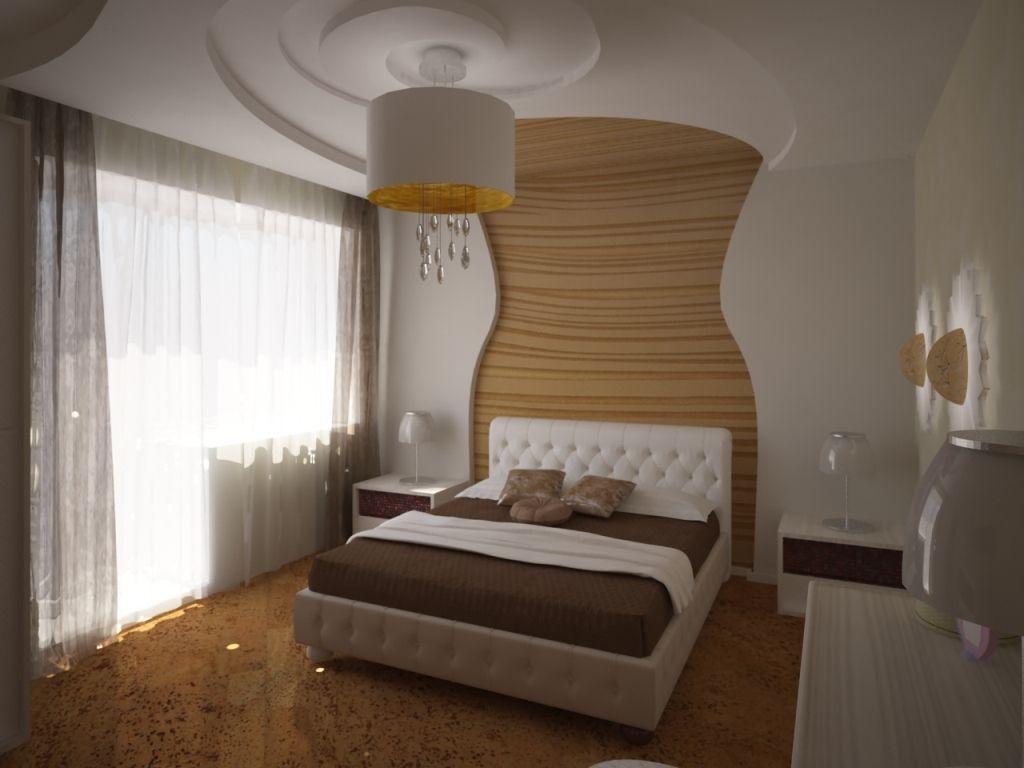 Мягкие линии, округлые формы подойдут для спальни