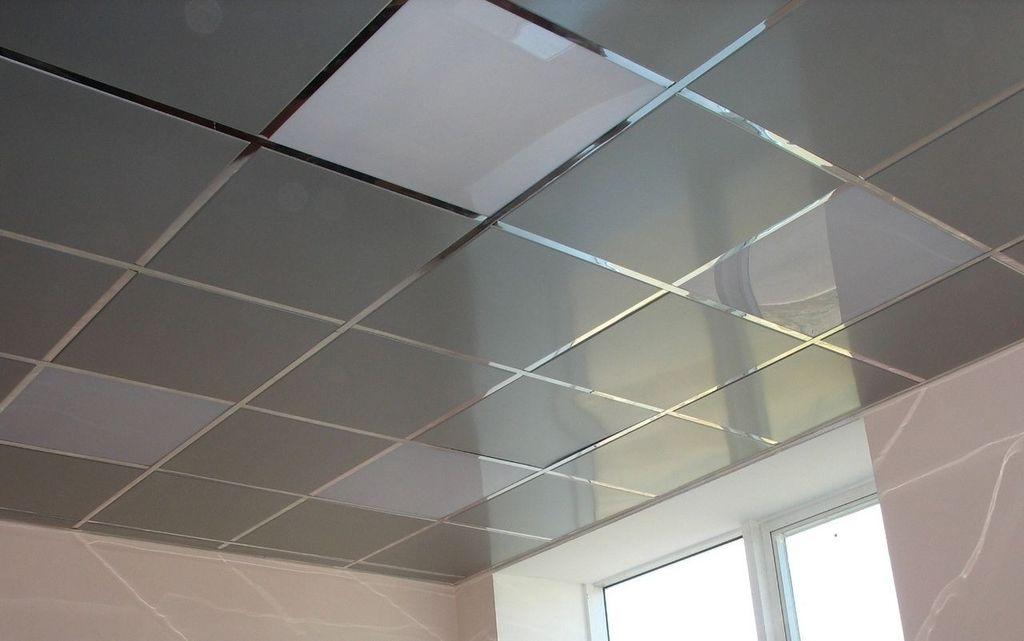 Кассетные потолки долговечны и просты в сборке