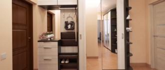 Как подобрать дизайн шкафа-купе для прихожей