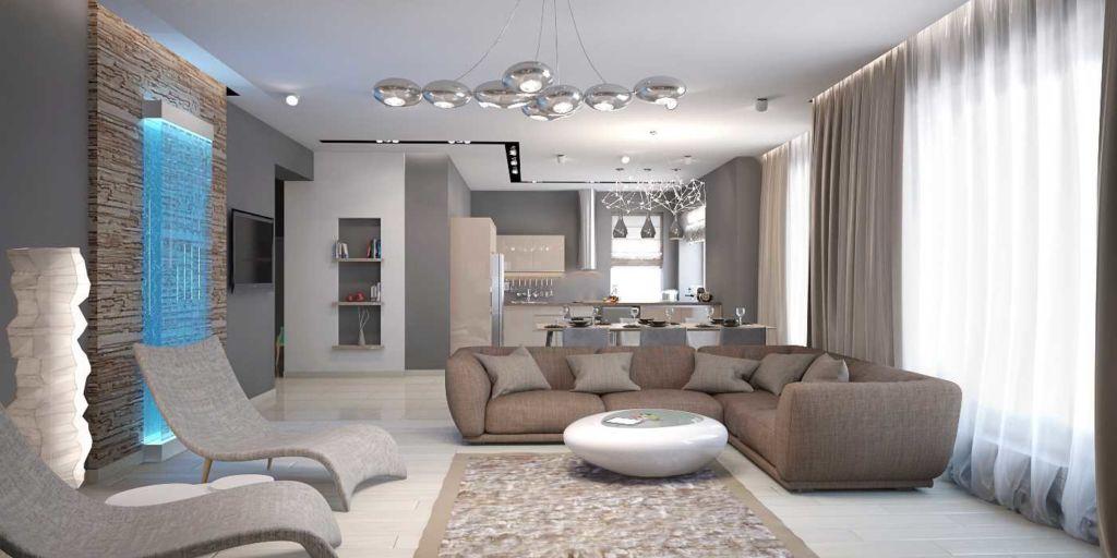 25 идей дизайна интерьера гостиной в стиле минимализм