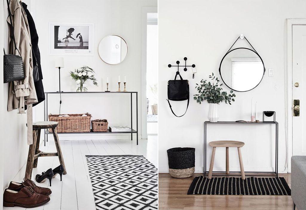10 лучших вариантов дизайна прихожей в скандинавском стиле