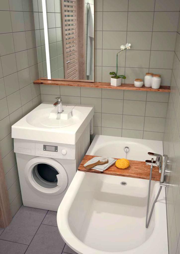 Подробная инструкция, как установить стиральную машину под раковину