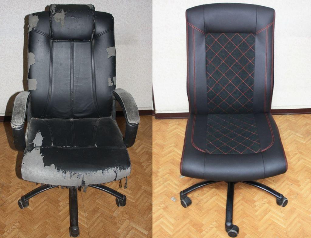 Полный ремонт офисного кресла