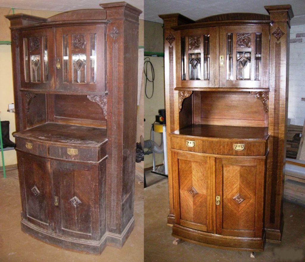 4 вида реставрации старого буфета своими руками