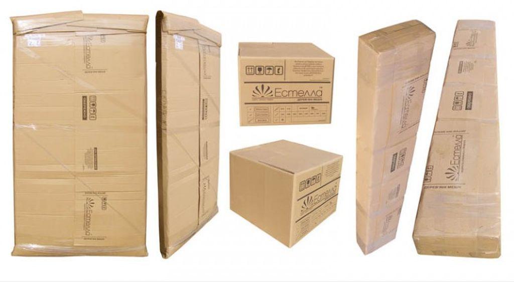 Как правило комплект кровати привозят в фабричной упаковке