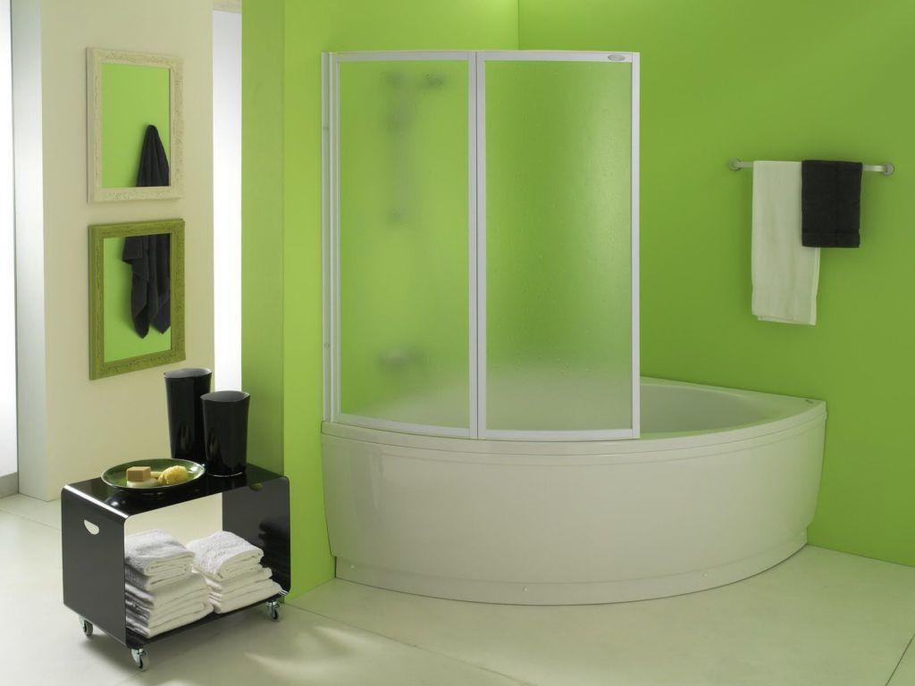 Ширма - перегородка в ванную комнату