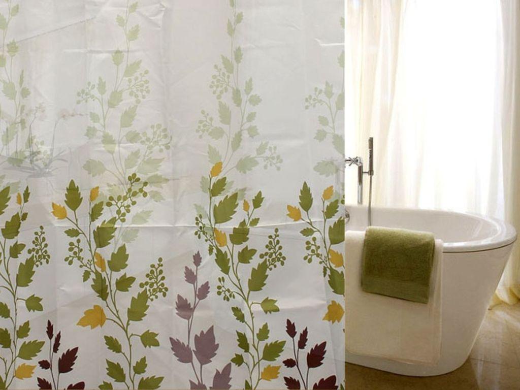 Мягкие шторы ванную