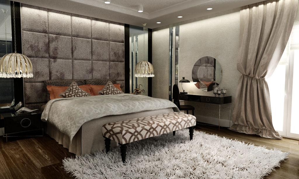 Как создать дизайн спальни в стиле ар-деко (22 фото)