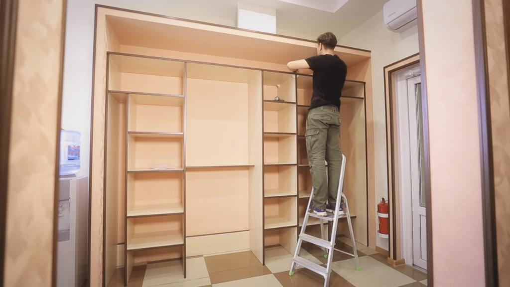 Пошаговая инструкция для сборки шкафа-купе своими руками