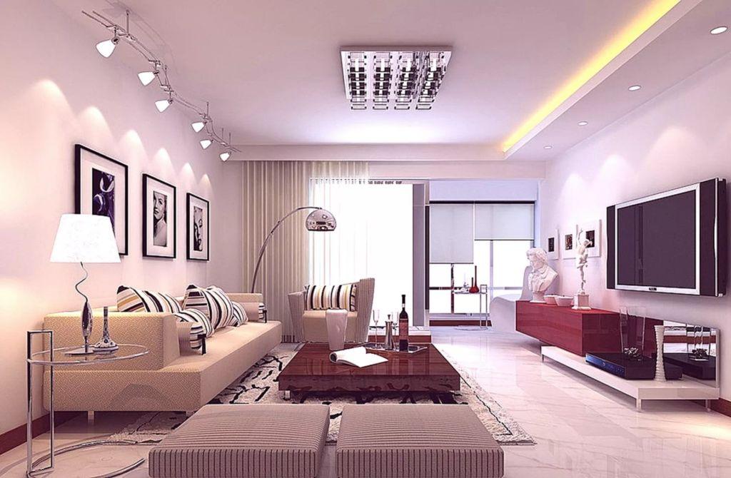 Освещение в гостиной играет особую роль в зонировании пространства комнаты