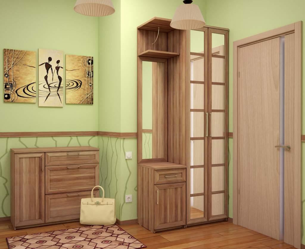 Картины в интерьере прихожей – достойный элемент дизайна, независимо от выбранного стиля помещения