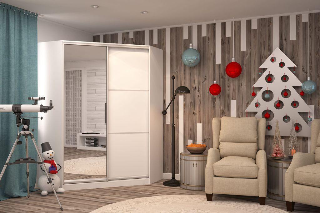 Угловой шкаф-купе удачно впишется в любой дизайн комнаты