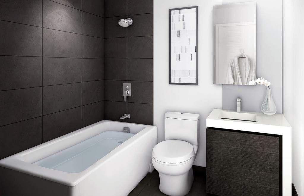 Даже небольшая ванна занимает много места
